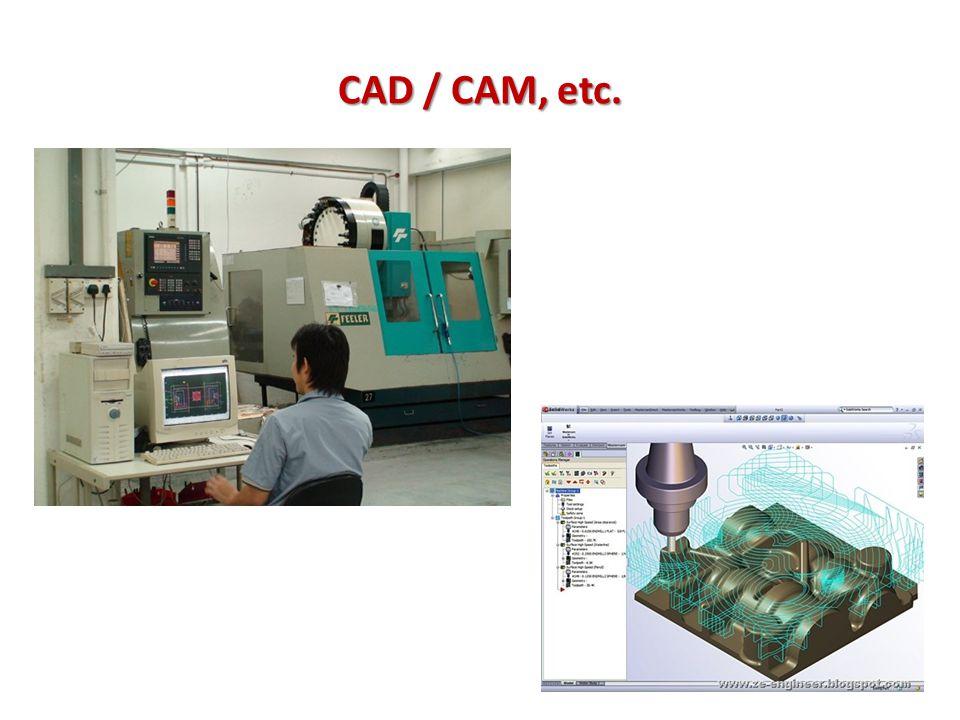 CAD / CAM, etc.