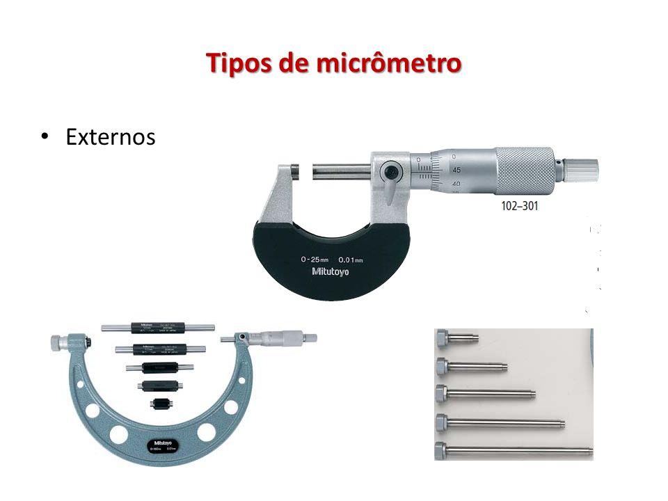 Tipos de micrômetro Externos