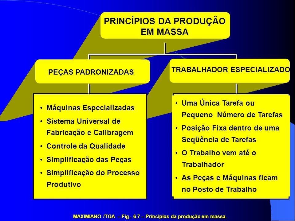 PRINCÍPIOS DA PRODUÇÃO TRABALHADOR ESPECIALIZADO