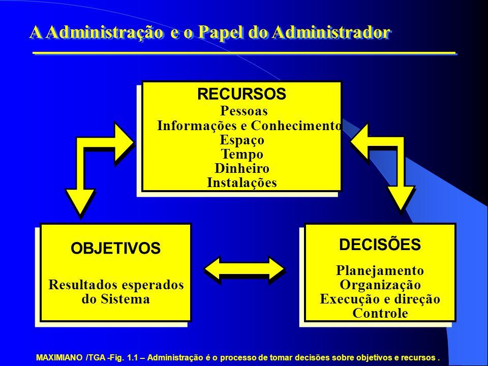 Informações e Conhecimento