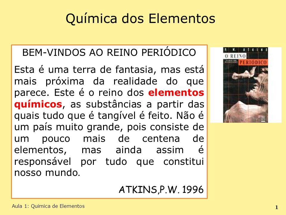 BEM-VINDOS AO REINO PERIÓDICO
