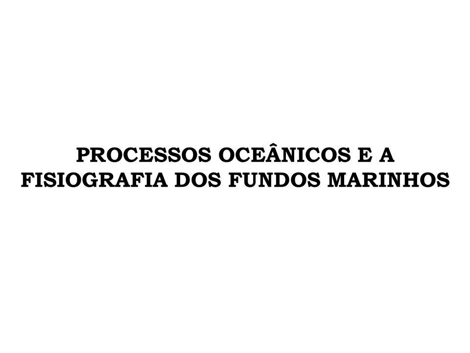 PROCESSOS OCEÂNICOS E A FISIOGRAFIA DOS FUNDOS MARINHOS