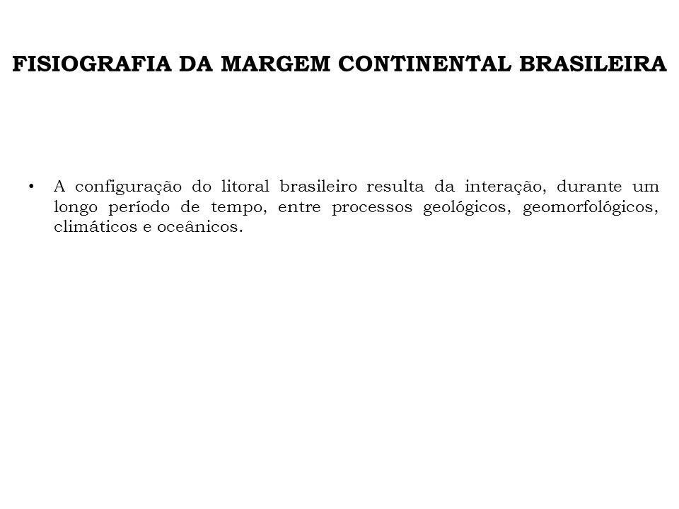 FISIOGRAFIA DA MARGEM CONTINENTAL BRASILEIRA