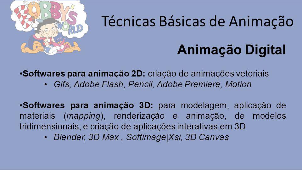 Técnicas Básicas de Animação