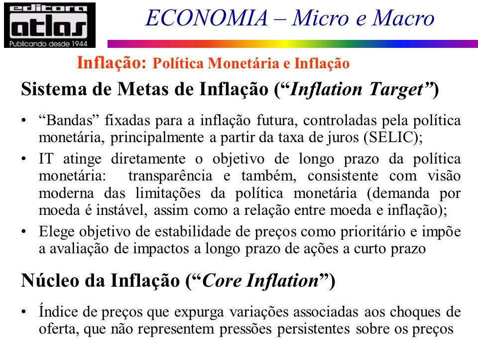 Sistema de Metas de Inflação ( Inflation Target )