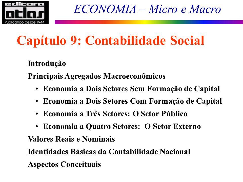 Capítulo 9: Contabilidade Social