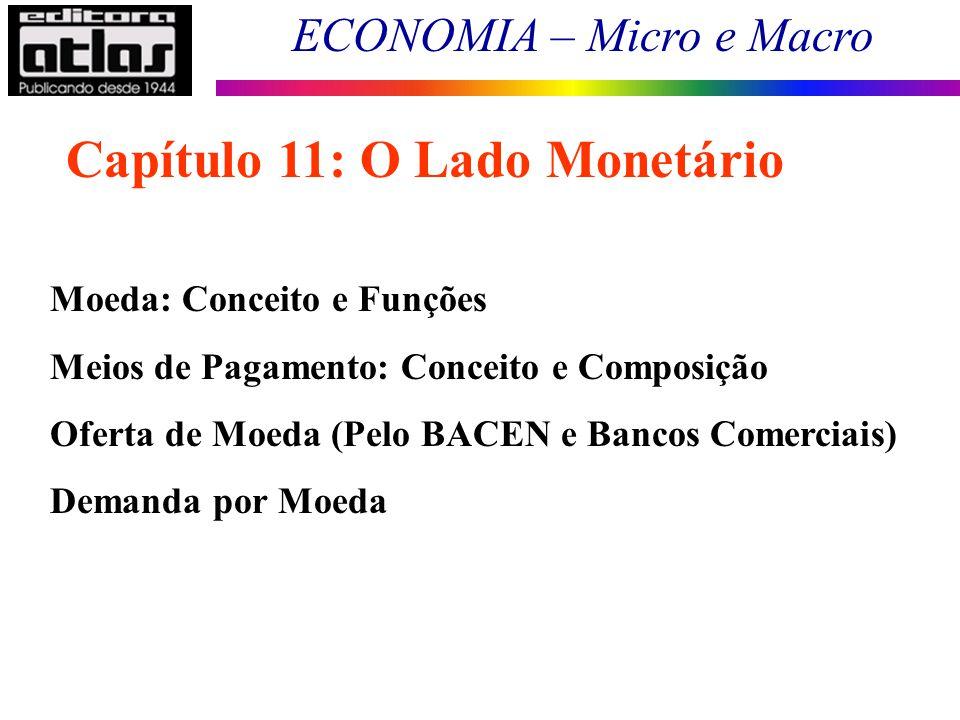 Capítulo 11: O Lado Monetário