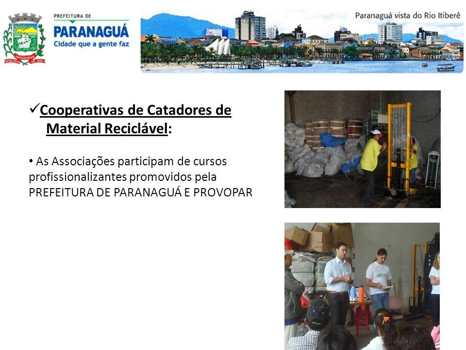 Cooperativas de Catadores de Material Reciclável: