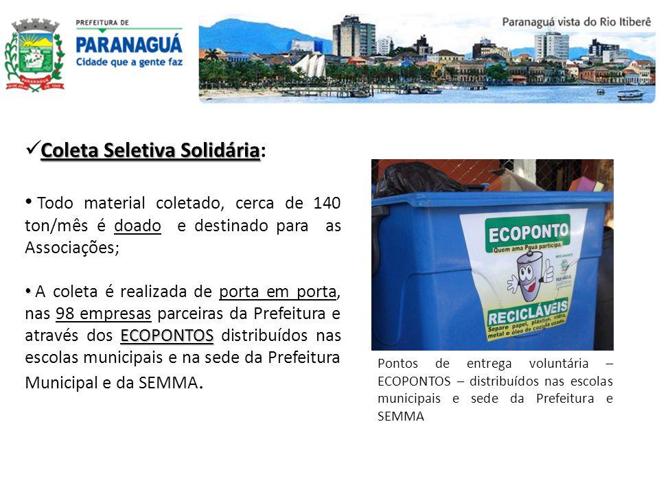 Coleta Seletiva Solidária: