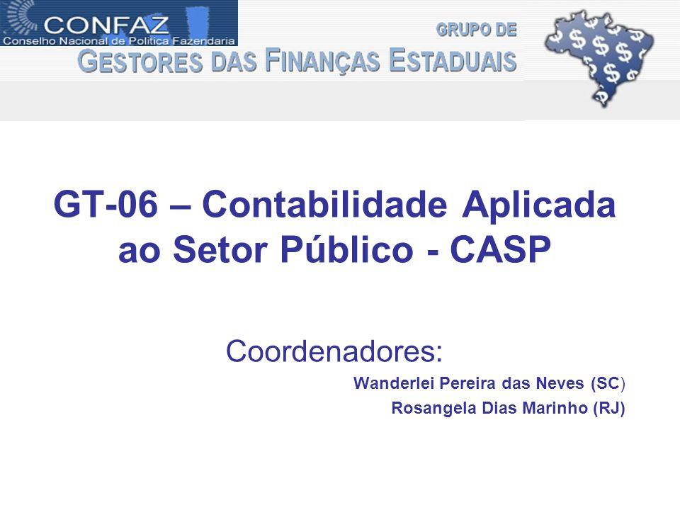 GT-06 – Contabilidade Aplicada ao Setor Público - CASP