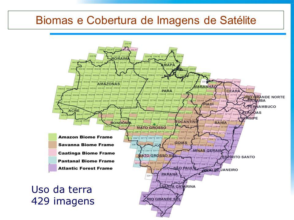 Biomas e Cobertura de Imagens de Satélite
