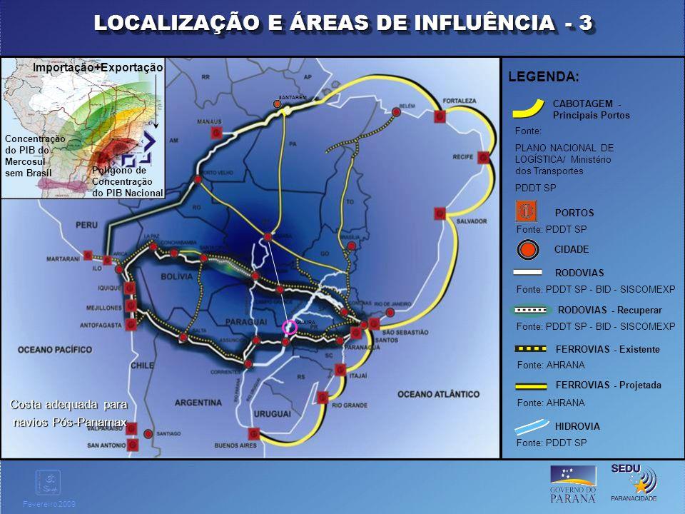 LOCALIZAÇÃO E ÁREAS DE INFLUÊNCIA - 3