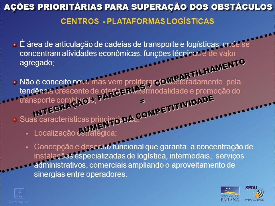 AÇÕES PRIORITÁRIAS PARA SUPERAÇÃO DOS OBSTÁCULOS