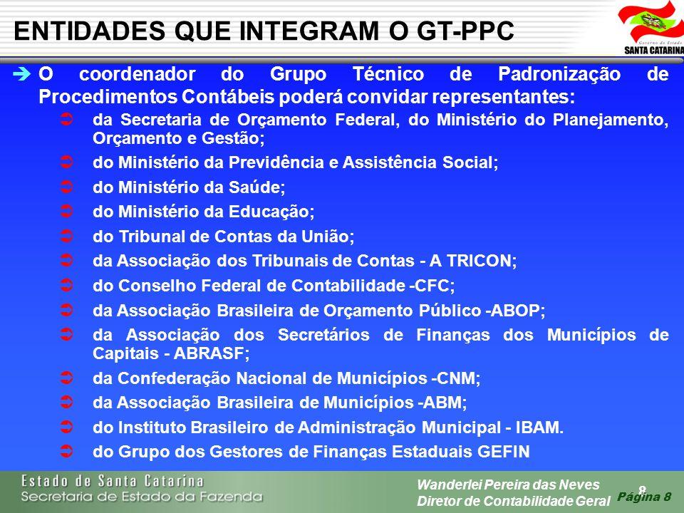 ENTIDADES QUE INTEGRAM O GT-PPC