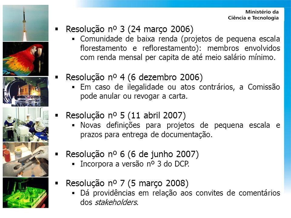 Resolução nº 4 (6 dezembro 2006)