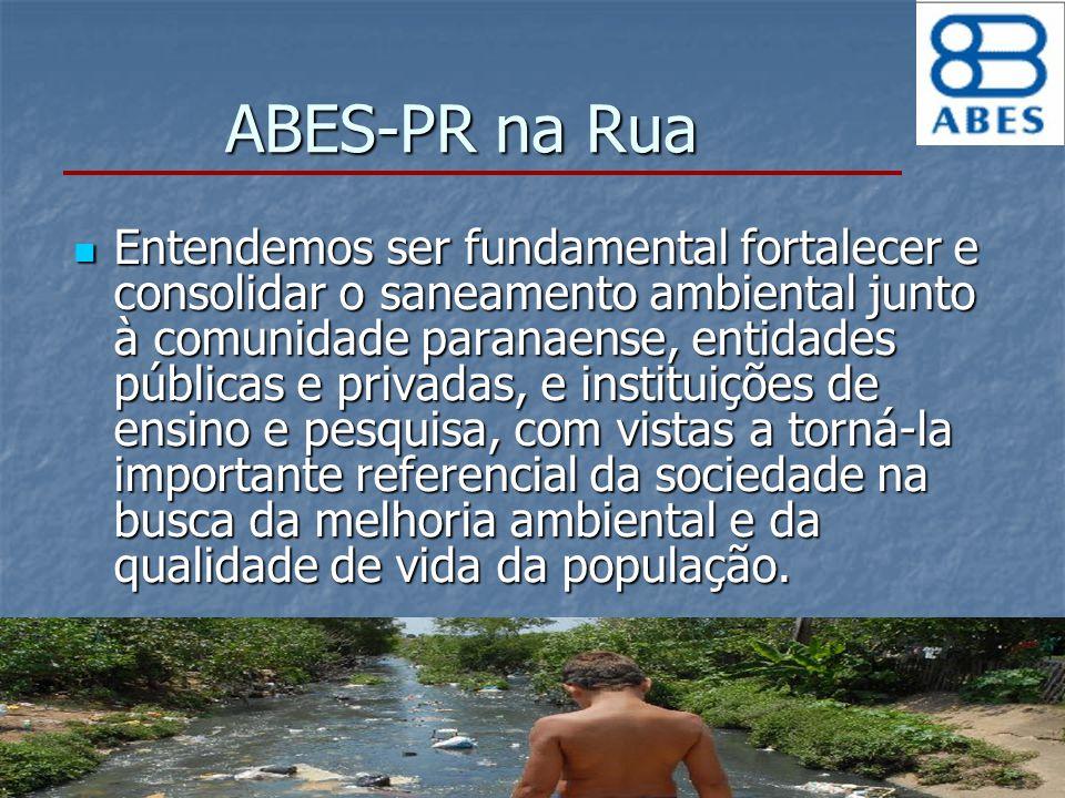 ABES-PR na Rua