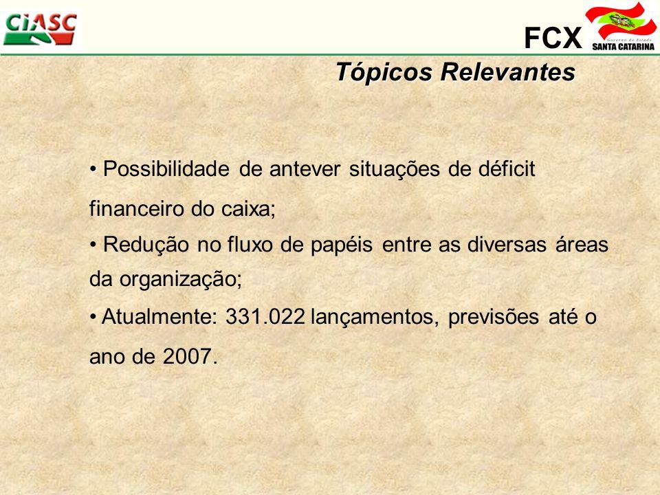 FCX Tópicos Relevantes