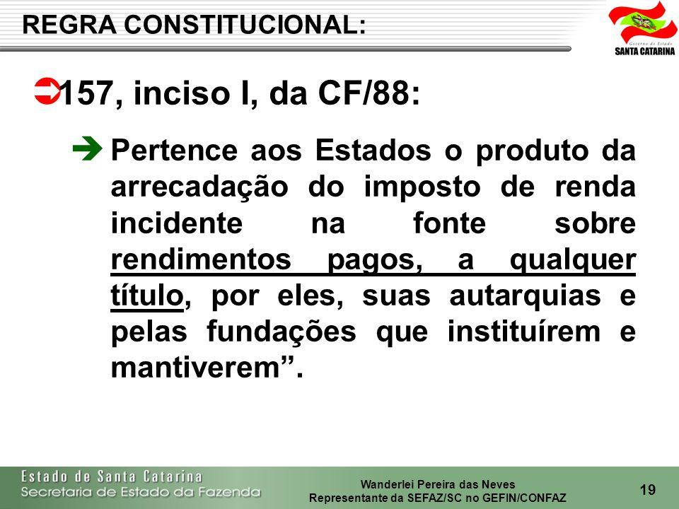 REGRA CONSTITUCIONAL: