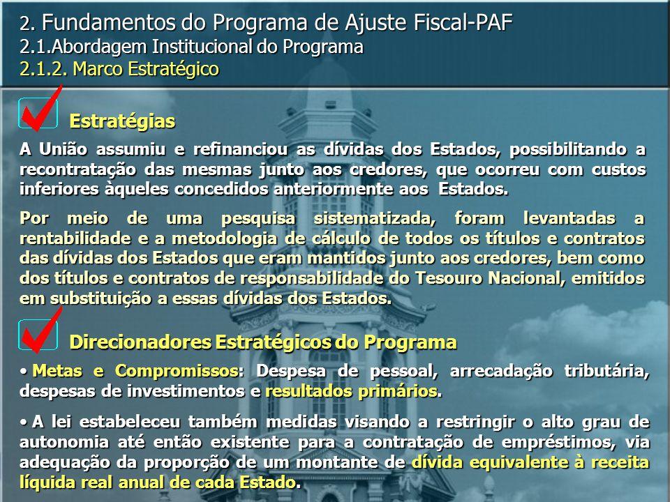 Direcionadores Estratégicos do Programa