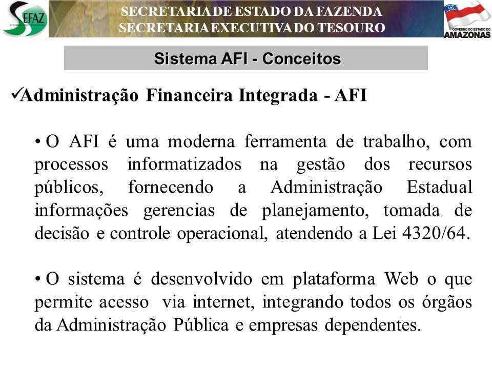 Administração Financeira Integrada - AFI