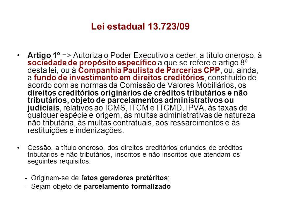 Lei estadual 13.723/09