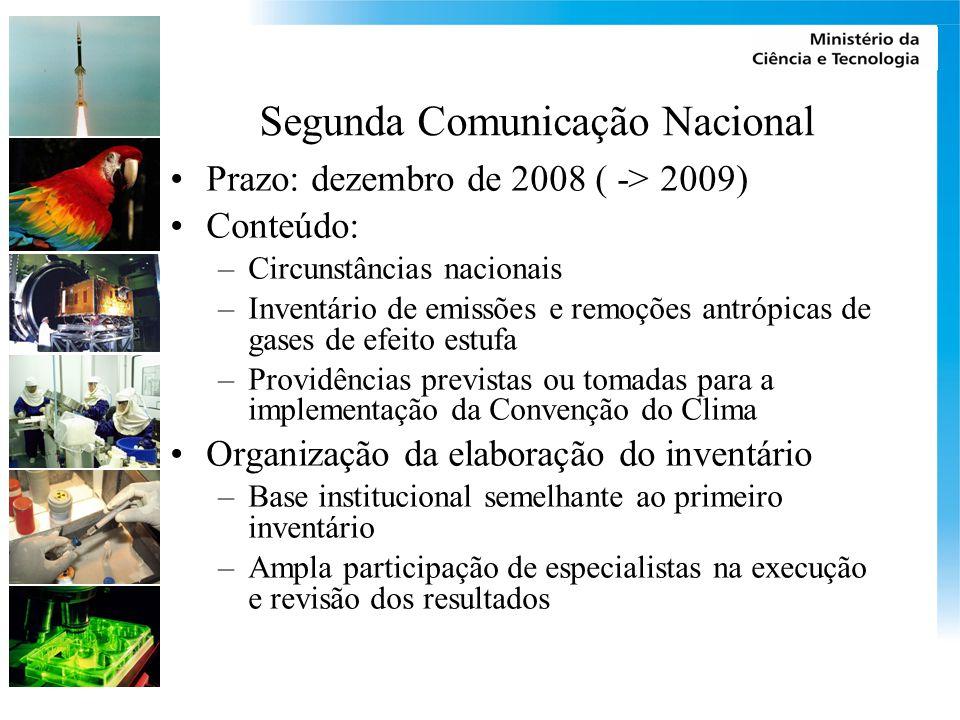 Segunda Comunicação Nacional