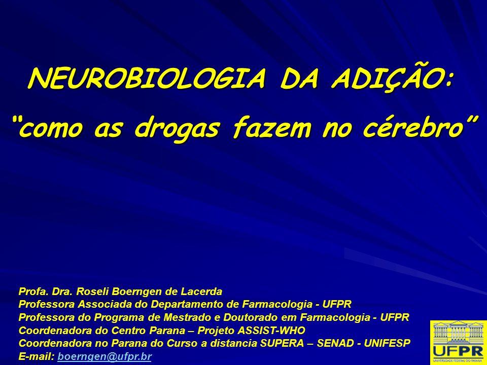 NEUROBIOLOGIA DA ADIÇÃO: como as drogas fazem no cérebro