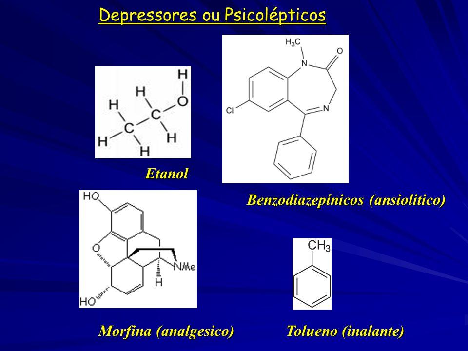 Depressores ou Psicolépticos