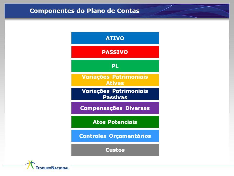 Componentes do Plano de Contas