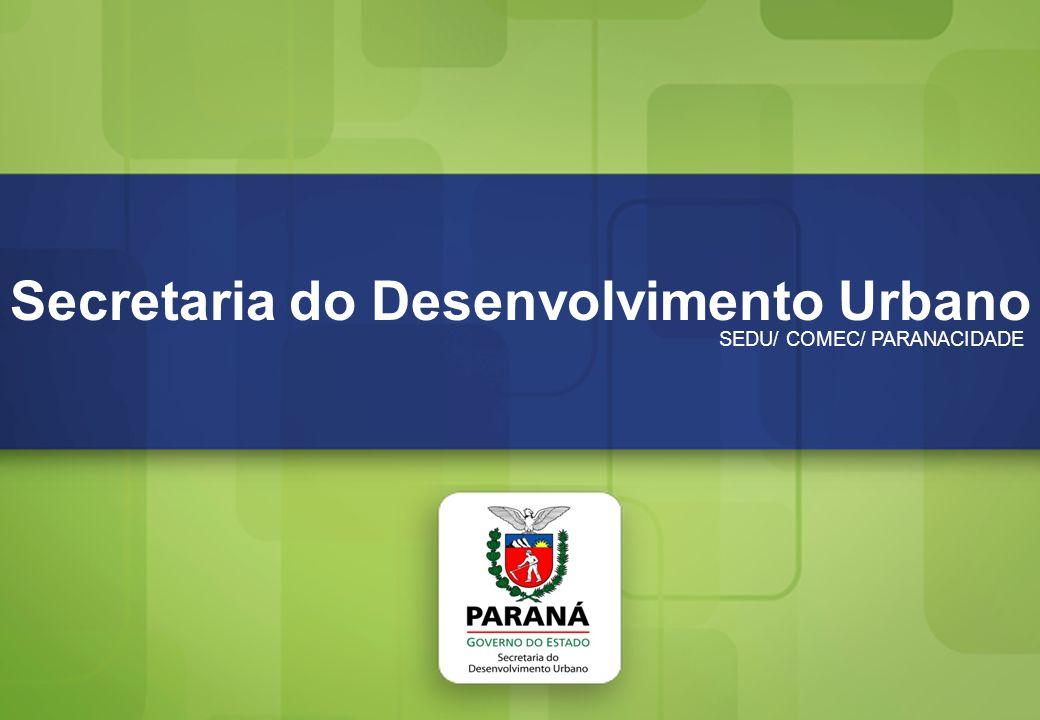 Secretaria do Desenvolvimento Urbano