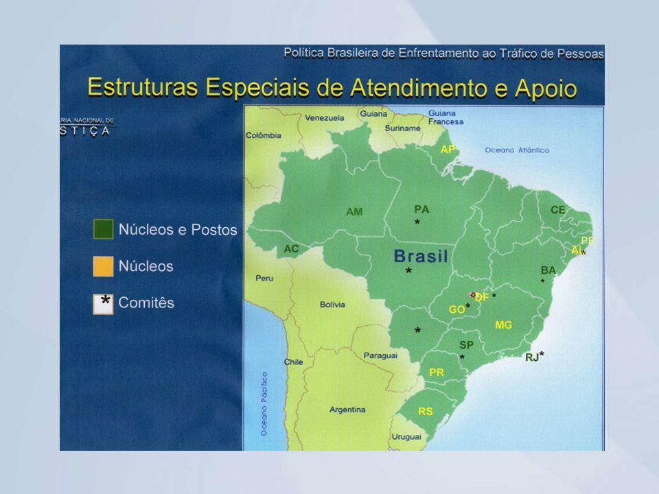 Núcleo de Enfrentamento ao Tráfico de Pessoas no Estado do Paraná – NETP