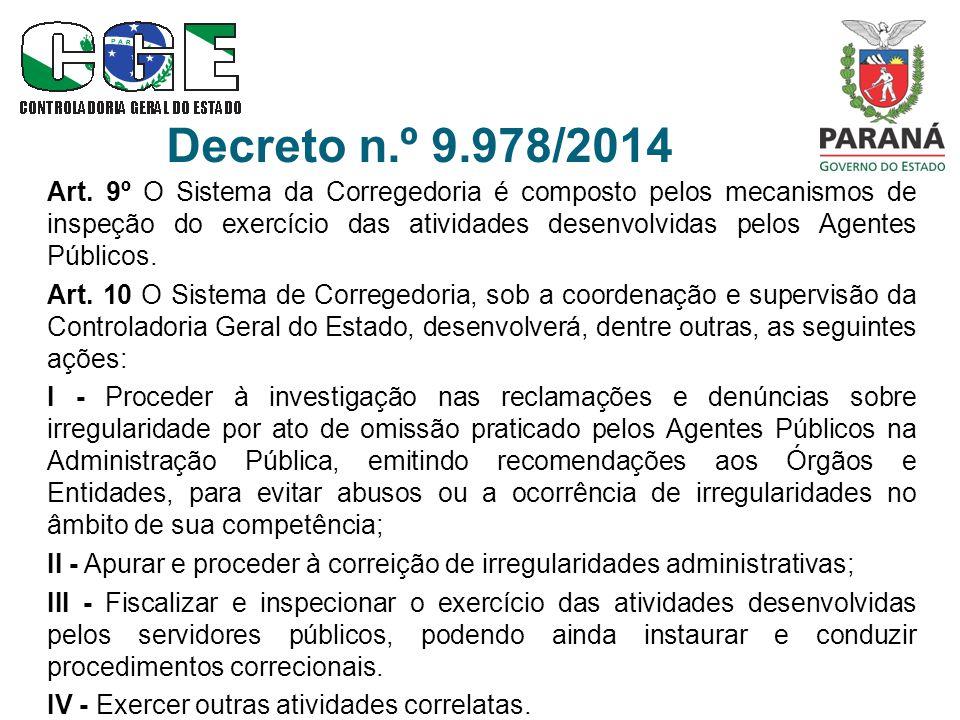 Decreto n.º 9.978/2014