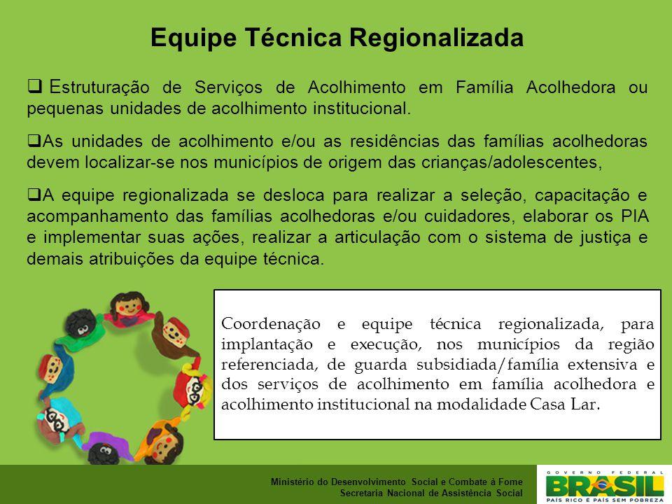 Equipe Técnica Regionalizada