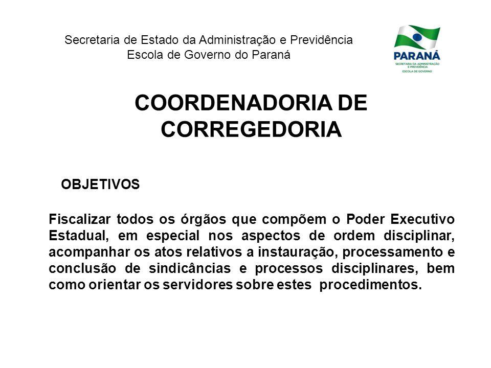 COORDENADORIA DE CORREGEDORIA