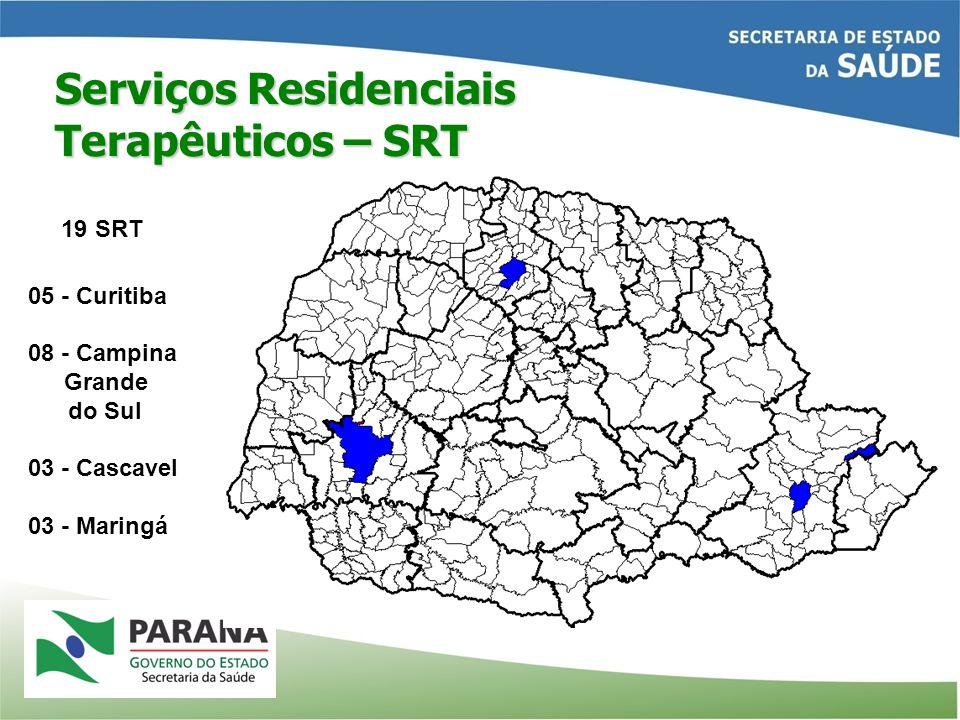 Serviços Residenciais Terapêuticos – SRT