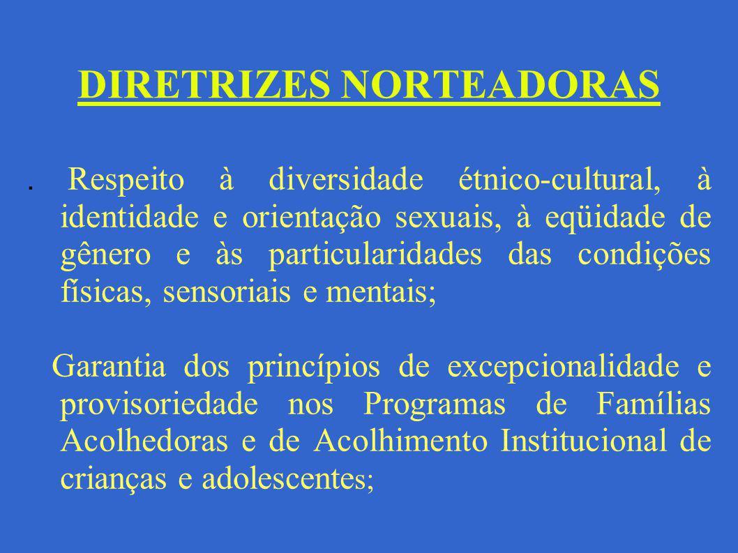 DIRETRIZES NORTEADORAS