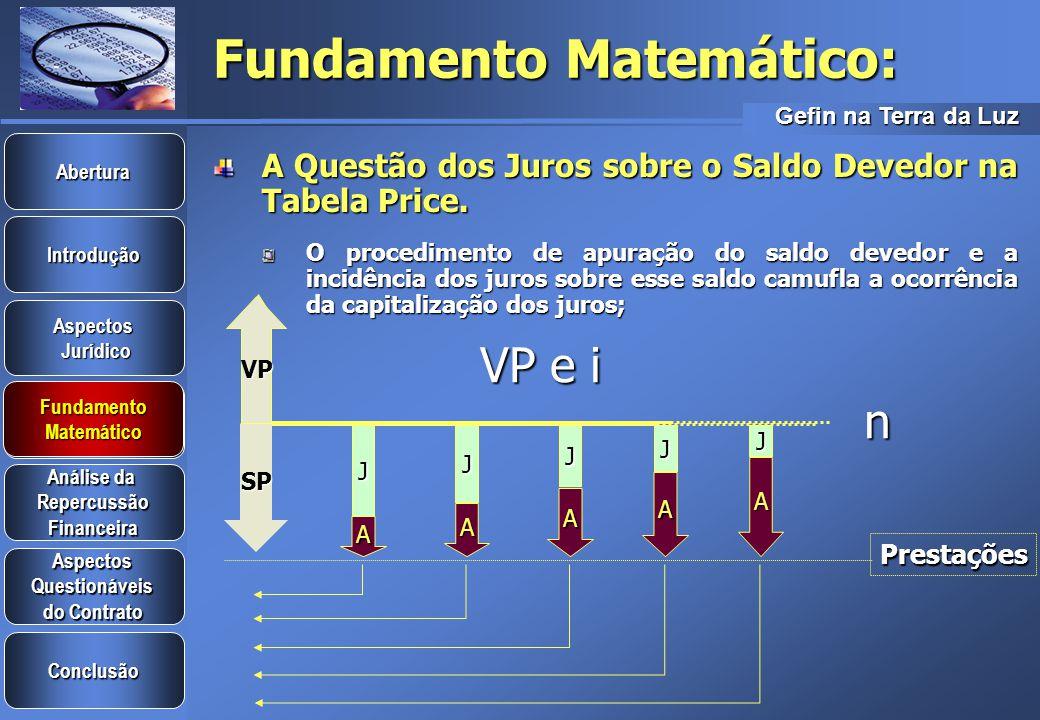 Fundamento Matemático: