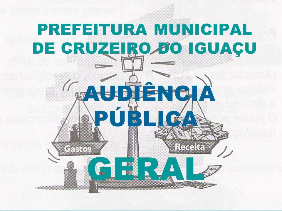 PREFEITURA MUNICIPAL DE CRUZEIRO DO IGUAÇU