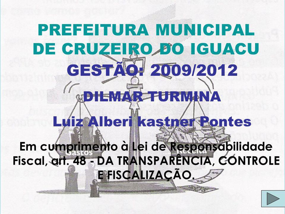 PREFEITURA MUNICIPAL DE CRUZEIRO DO IGUACU