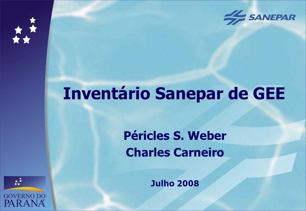 Inventário Sanepar de GEE