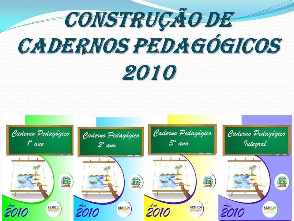 CONSTRUÇÃO DE CADERNOS PEDAGÓGICOS 2010