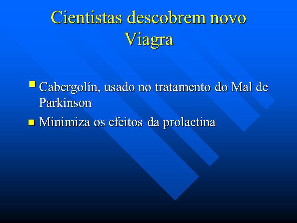 Cientistas descobrem novo Viagra
