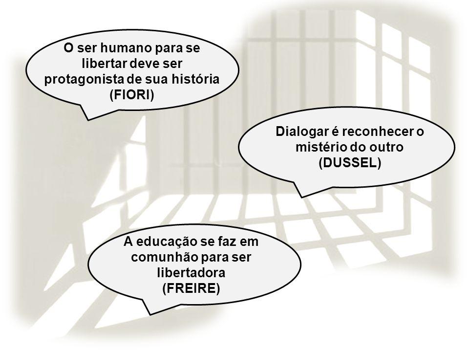 O ser humano para se libertar deve ser protagonista de sua história
