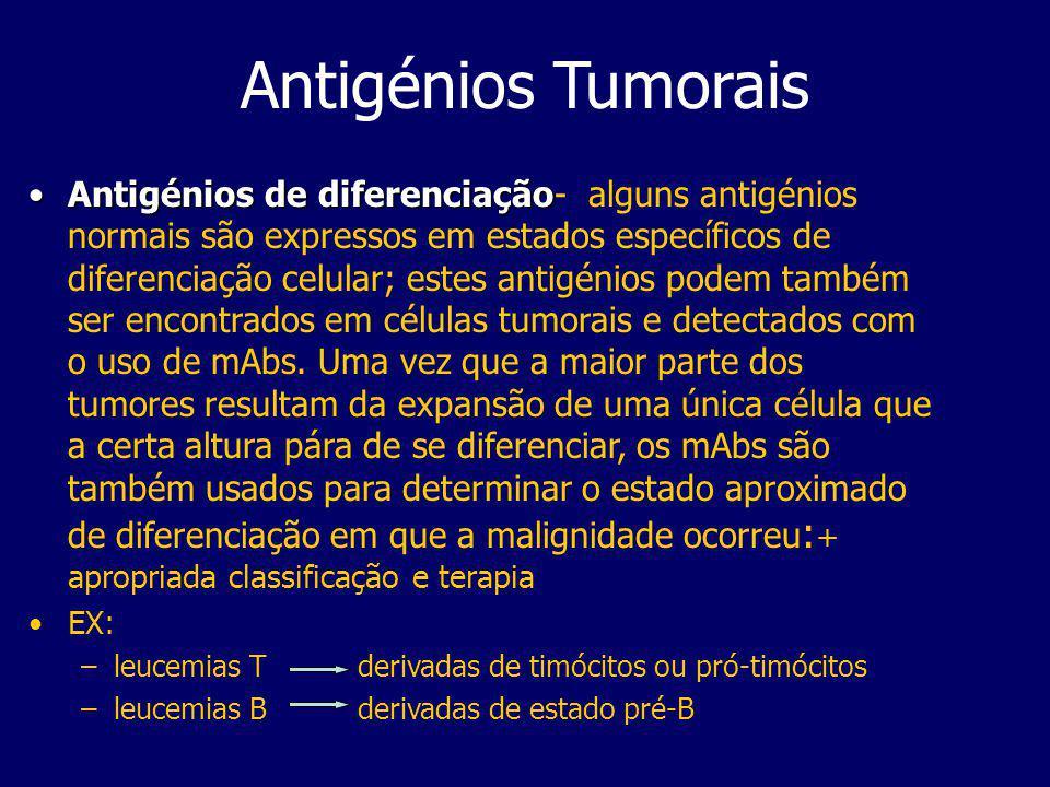 Antigénios Tumorais