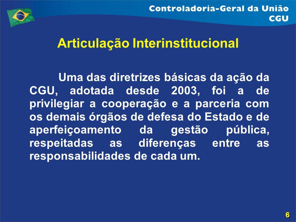 Articulação Interinstitucional