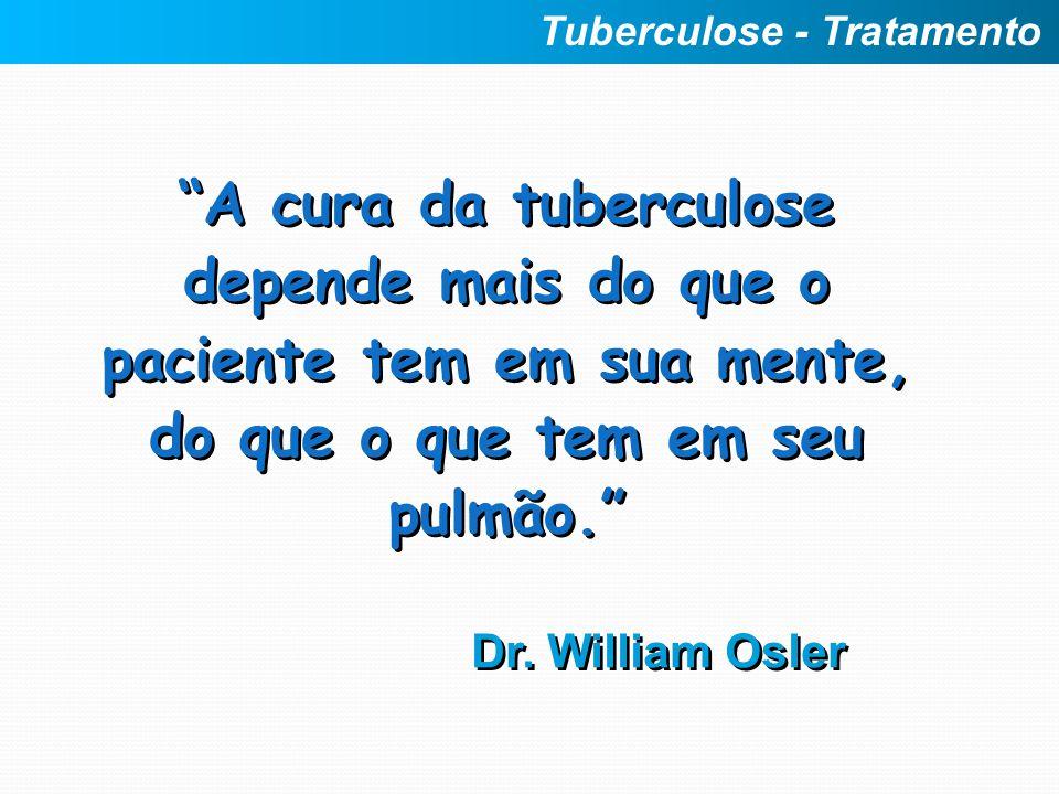 Tuberculose - Tratamento