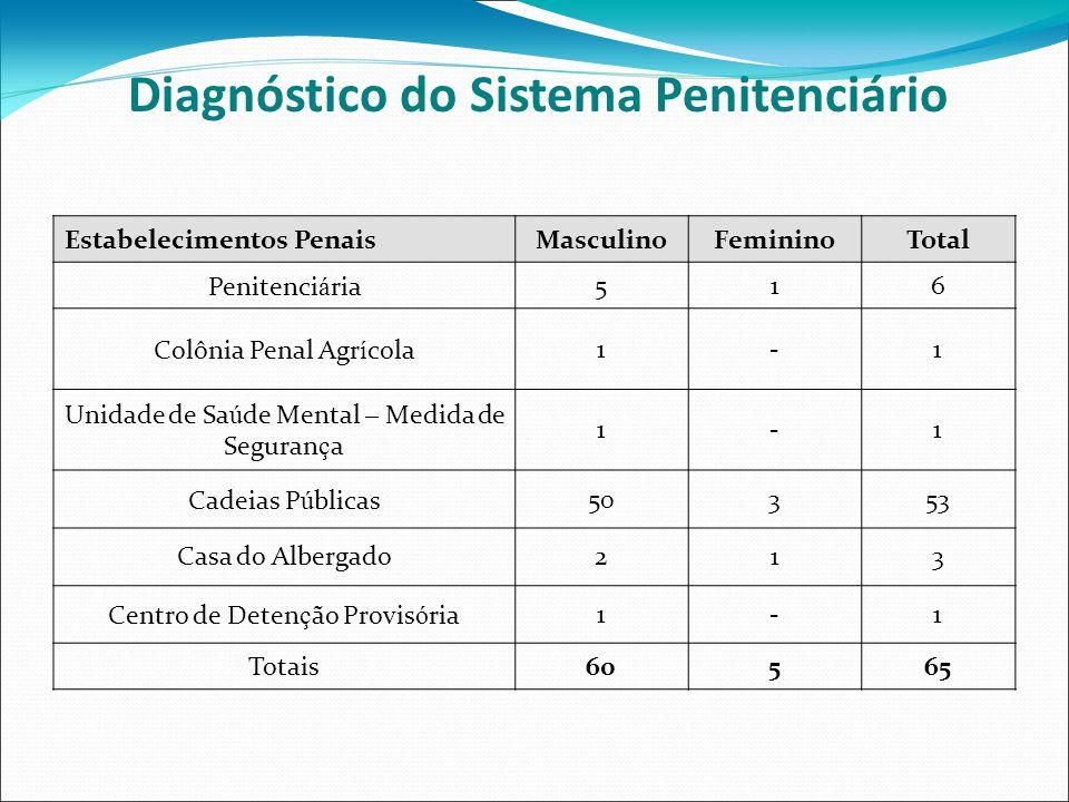 Diagnóstico do Sistema Penitenciário