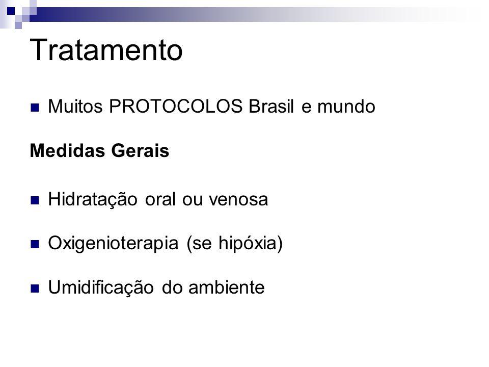 Tratamento Muitos PROTOCOLOS Brasil e mundo Medidas Gerais