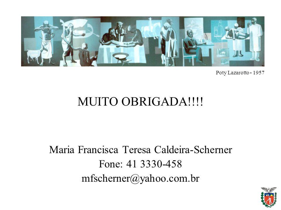 Maria Francisca Teresa Caldeira-Scherner