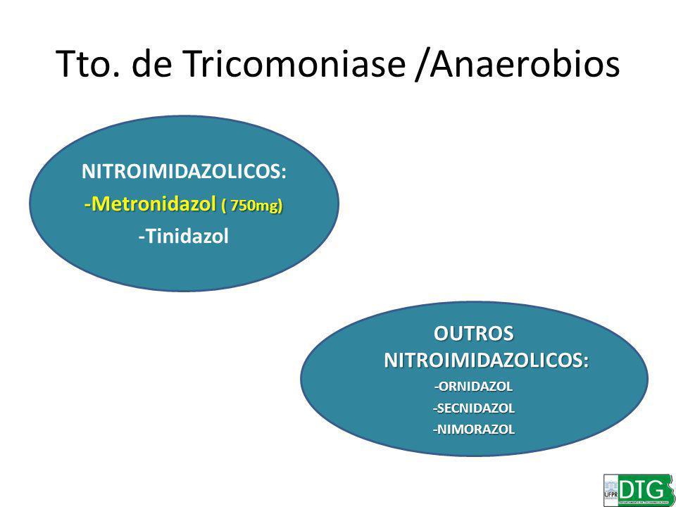 Tto. de Tricomoniase /Anaerobios